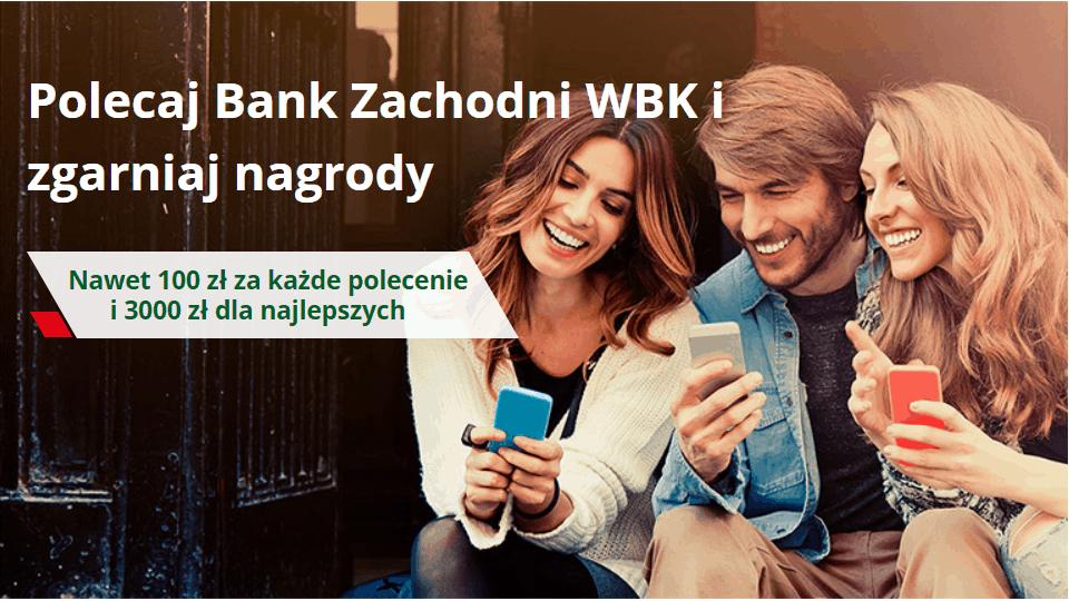 Polecaj Bank Zachodni WBK